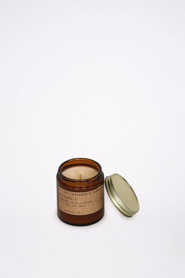 P.F. Candle Co. 3.5 Oz Teakwood & Tobacco