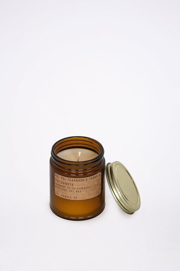 P.F. Candle Co. 7.2 Oz Teakwood & Tobacco