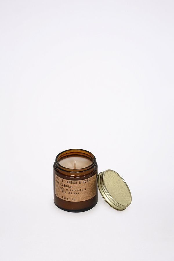 P.F. Candle Co. 3.5 Oz Amber & Moss